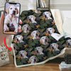 Love You Forever  - Personalized Blanket With Your Pet's Photo