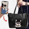 Love You - Personalized Unique Handbag With Your Pet's Photo V1