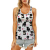 Cute Affenpinscher - Hollow Tank Top V1