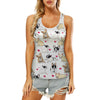 Cute French Bulldog - Hollow Tank Top V1