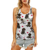 Cute German Shorthaired Pointer - Hollow Tank Top V1