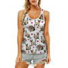 Cute Siamese Cat - Hollow Tank Top V1