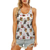 Cute Yorkshire Terrier - Hollow Tank Top V1