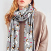 Cute Wire Fox Terrier - Scarf V1