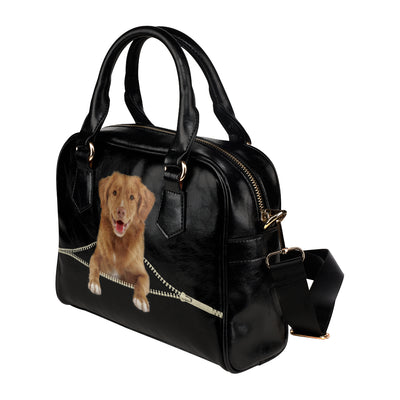 Nova Scotia Duck Tolling Retriever Shoulder Handbag V2