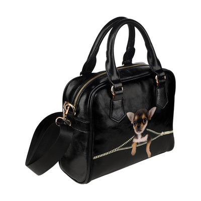 Chihuahua Shoulder Handbag V2