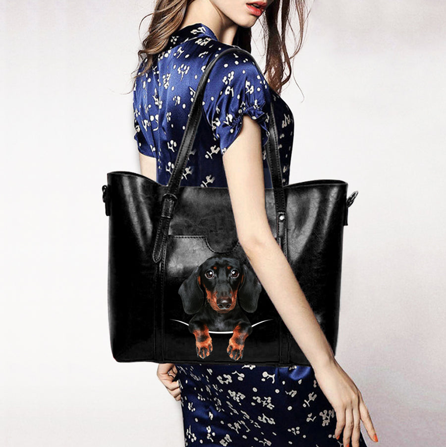 Dachshund Unique Handbag V4