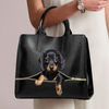 Dachshund Luxury Handbag V1