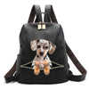 Dapple Dachshund Backpack V1