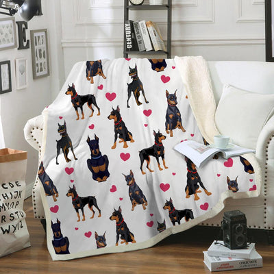 Doberman Pinscher Blanket V1