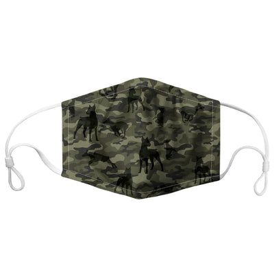 Doberman Pinscher Camo F-Mask V1