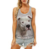 Dogo Argentino - Hollow Tank Top V1