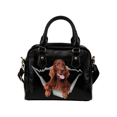 Irish Setter Shoulder Handbag V1