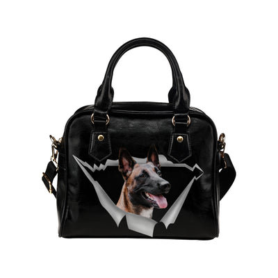 Belgian Shepherd Shoulder Handbag