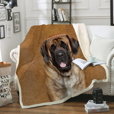 English Mastiff Blanket V2