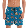 English Bulldog - Hawaiian Shorts V1
