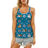 English Bulldog - Hawaiian Tank Top V1