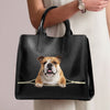 English Bulldog Luxury Handbag V2