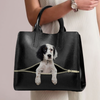 English Setter Luxury Handbag V1