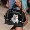 Exotic Cat Shoulder Handbag V1