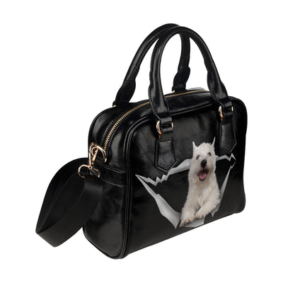 West Highland White Terrier Shoulder Håndtaske V1