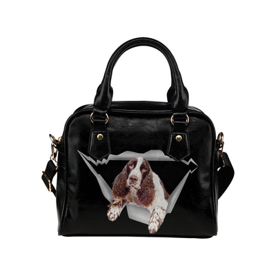 English Springer Spaniel Shoulder Handbag