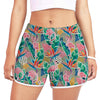 Flamingo - Colorful Yoga Shorts V1