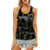 French Bulldog Camo - Hollow Tank Top V1