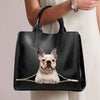 French Bulldog Luxury Handbag V6
