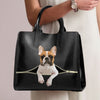 French Bulldog Luxury Handbag V5