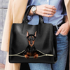German Pinscher Luxury Handbag V1