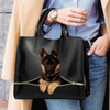 German Shepherd Luxury Handbag V1