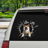 Get In - It's Time For Shopping - Akita Inu Car/ Door/ Fridge/ Laptop Sticker V1