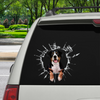 Get In - It's Time For Shopping - Appenzeller Sennenhund Car/ Door/ Fridge/ Laptop Sticker V1