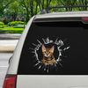 Get In - It's Time For Shopping - Bengal Cat Car/ Door/ Fridge/ Laptop Sticker V1