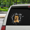 Get In - It's Time For Shopping - Cairn Terrier Car/ Door/ Fridge/ Laptop Sticker V1