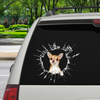 Get In - It's Time For Shopping - Chihuahua Car Sticker V2
