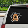Get In - It's Time For Shopping - Chow Chow Car/ Door/ Fridge/ Laptop Sticker V1