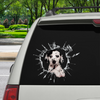 Get In - It's Time For Shopping - Dalmatian Car Sticker V1