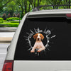 Get In - It's Time For Shopping - English Pointer Car Sticker V1
