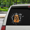 Get In - It's Time For Shopping - Griffon Bruxellois Car/ Door/ Fridge/ Laptop Sticker V1