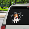Get In - It's Time For Shopping - Jack Russell Terrier Car Sticker V1