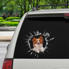 Vstupte - Je čas na nákupy - Papillon Car / Door / Fridge / Laptop Sticker V1