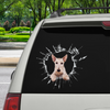 Kom ind - det er tid til shopping - Scottish Terrier Car Sticker V2