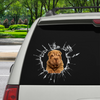 Get In - It's Time For Shopping - Shar Pei Car/ Door/ Fridge/ Laptop Sticker V1