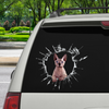 Get In - It's Time For Shopping - Sphynx Cat Car/ Door/ Fridge/ Laptop Sticker V1