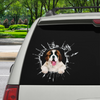 Get In - It's Time For Shopping - St. Bernard Car Sticker V1