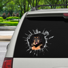 Get In - It's Time For Shopping - Tibetan Mastiff Car/ Door/ Fridge/ Laptop Sticker V1
