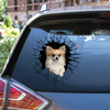 Get In - It's Time For Shopping - Chihuahua Car Sticker V3