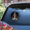 Get In - It's Time For Shopping - English Cocker Spaniel Car/ Door/ Fridge/ Laptop Sticker V2
